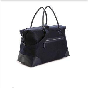 Handbags - Navy Felt Weekender Bag